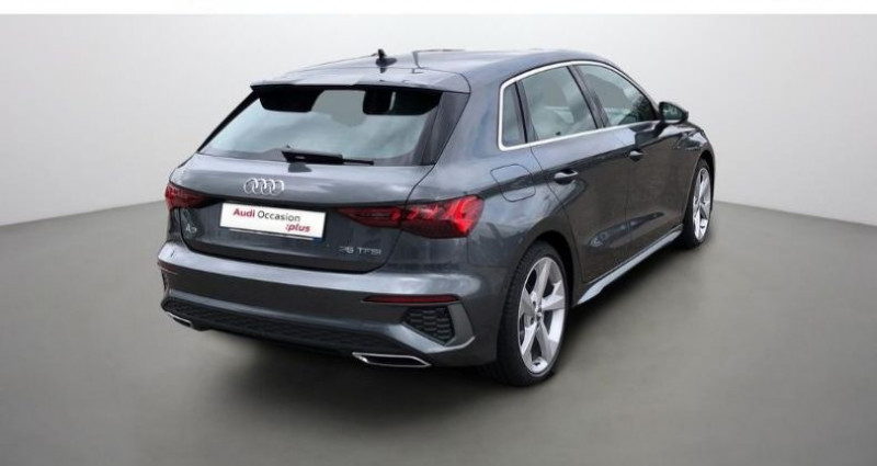 Audi A3 Sportback 35 TFSI 150ch S line Gris occasion à Augny - photo n°6