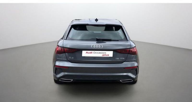Audi A3 Sportback 35 TFSI 150ch S line Gris occasion à Augny - photo n°5