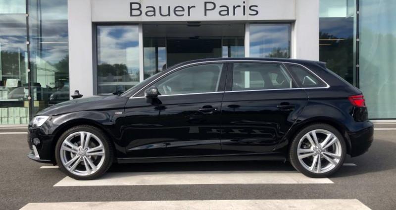 Audi A3 Sportback 35 TFSI CoD 150 S tronic 7 S Line Noir occasion à Saint-Ouen - photo n°2