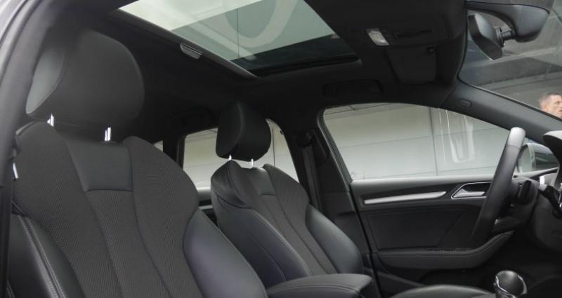 Audi A3 Sportback 35 TFSI CoD 150 S tronic 7 S Line Noir occasion à Saint-Ouen - photo n°5