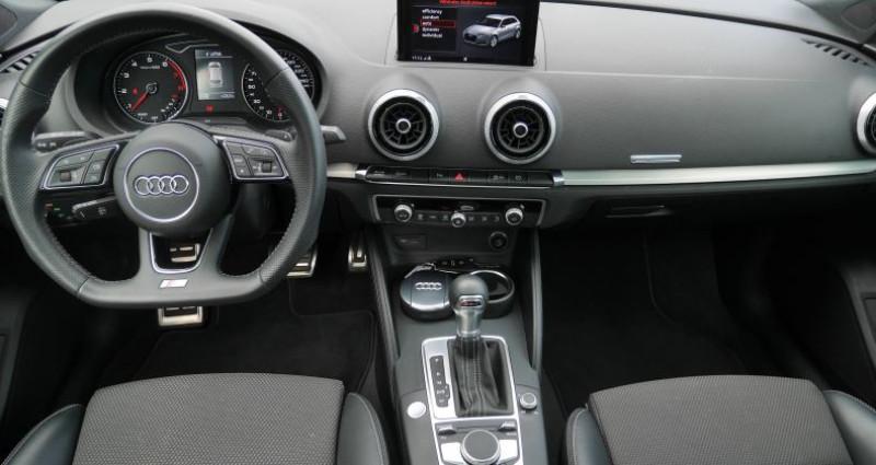 Audi A3 Sportback 35 TFSI CoD 150 S tronic 7 S Line Noir occasion à Saint-Ouen - photo n°6