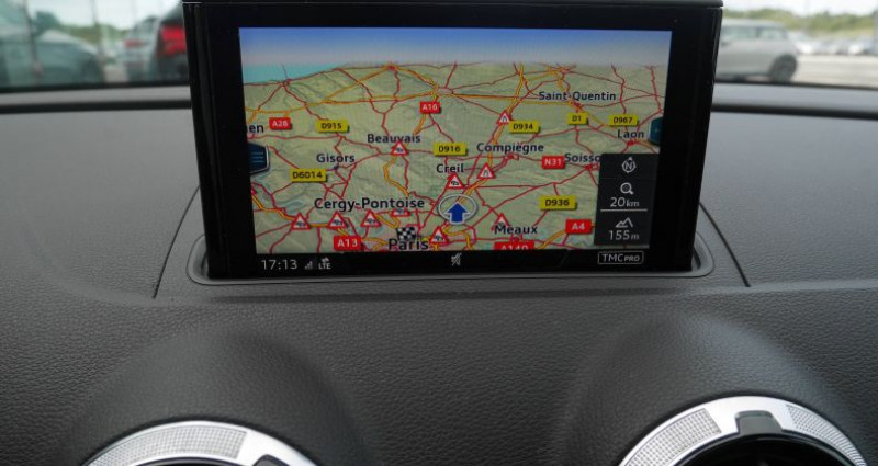 Audi A3 Sportback 35 TFSI CoD 150 S tronic 7 S Line Noir occasion à Saint-Ouen - photo n°7