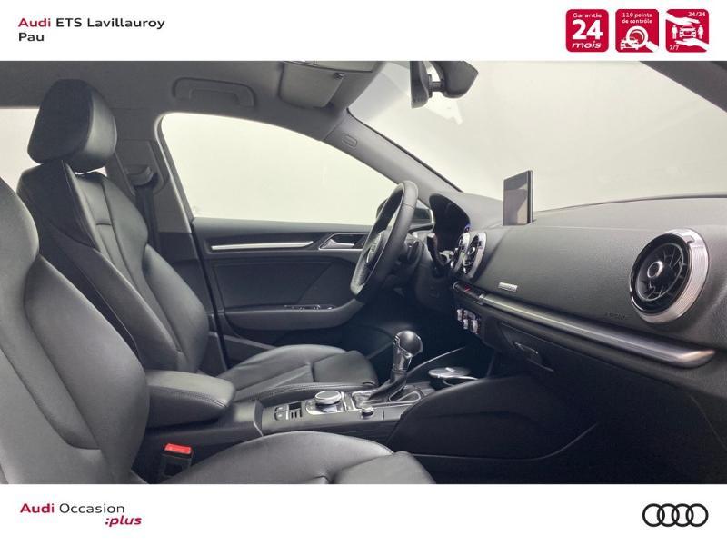 Audi A3 Sportback 40 TDI 184ch Design luxe quattro S tronic 7 Euro6d-T Noir occasion à Lescar - photo n°3