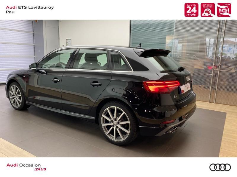 Audi A3 Sportback 40 TDI 184ch Design luxe quattro S tronic 7 Euro6d-T Noir occasion à Lescar - photo n°5