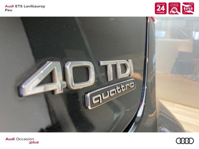 Audi A3 Sportback 40 TDI 184ch Design luxe quattro S tronic 7 Euro6d-T Noir occasion à Lescar - photo n°19