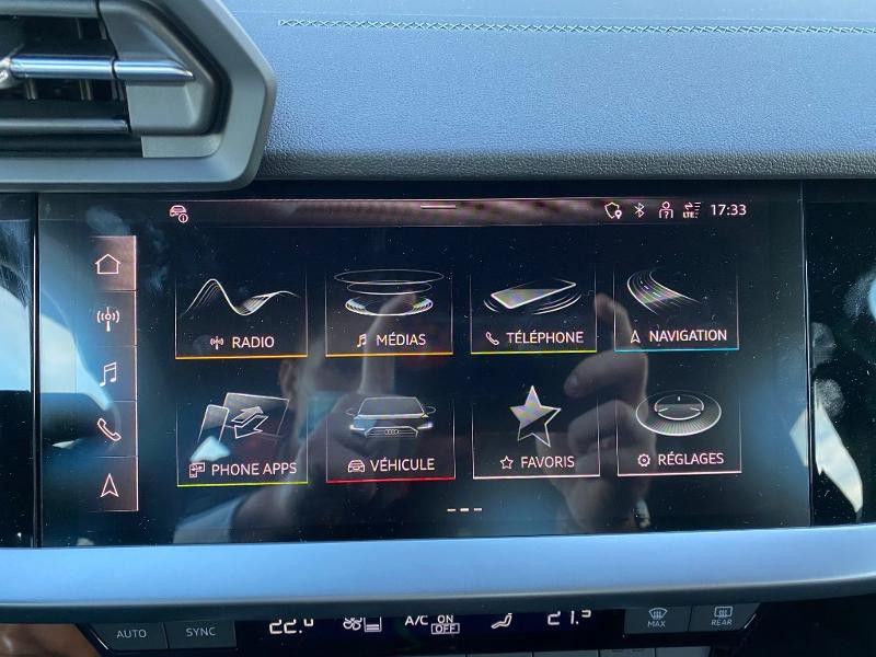 Audi A3 Sportback 40 TFSI e 204ch S line S tronic 6 Gris occasion à Albi - photo n°18