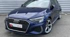 Audi A3 Sportback 40 TFSIe 204 S Tronic 6 S Line Bleu à Rouen 76