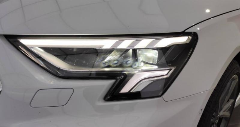 Audi A3 Sportback 40 TFSIe 204 S Tronic 6 S Line Blanc occasion à Saint-Ouen - photo n°5