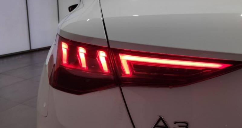 Audi A3 Sportback 40 TFSIe 204 S Tronic 6 S Line Blanc occasion à Saint-Ouen - photo n°6