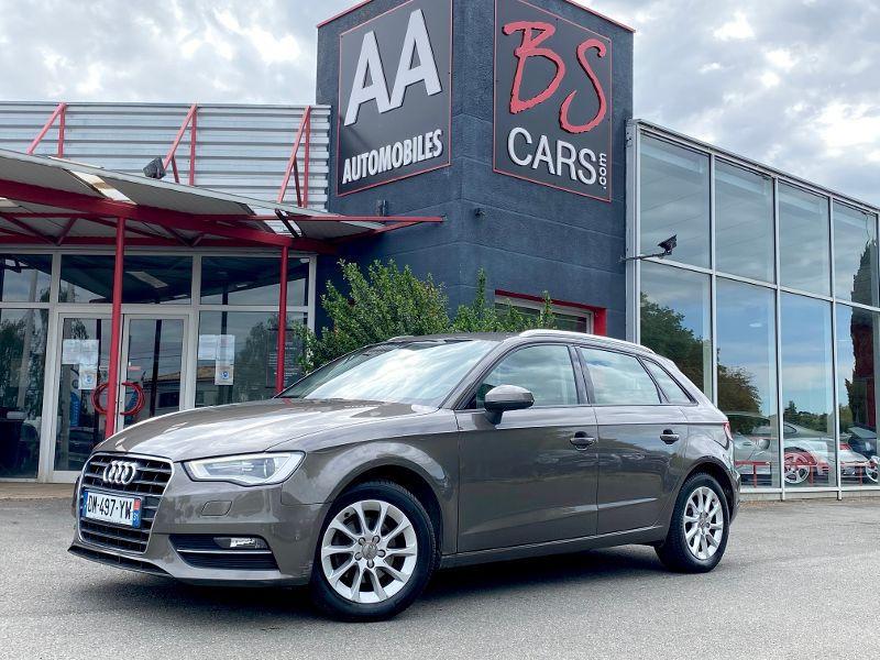 Audi A3 Sportback occasion 2013 mise en vente à Castelmaurou par le garage BS CARS.COM - photo n°1