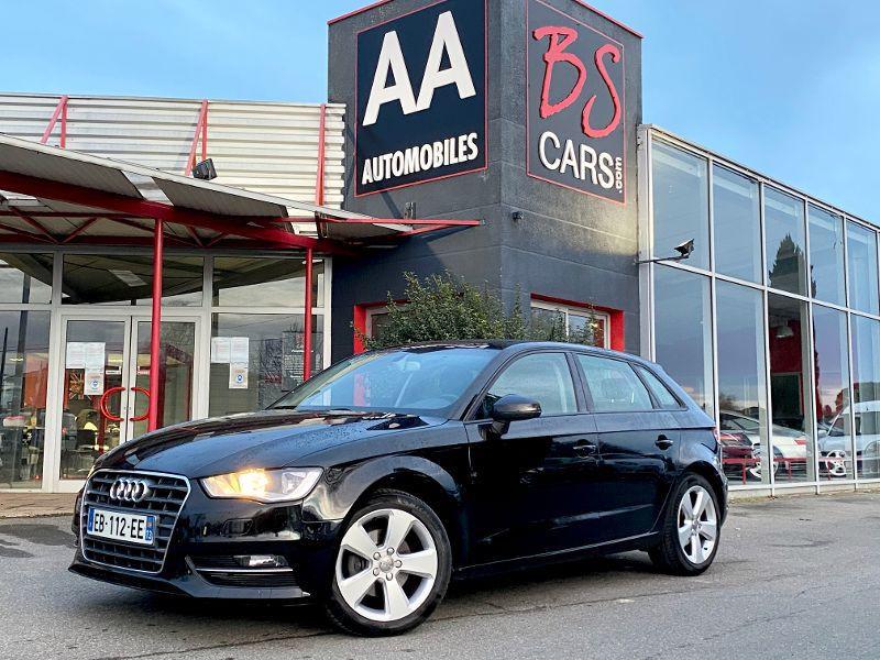 Audi A3 Sportback occasion 2010 mise en vente à Castelmaurou par le garage BS CARS.COM - photo n°1
