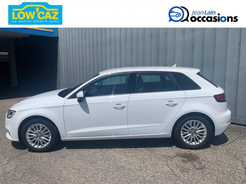 Audi A3 Sportback A3 Sportback 1.6 TDI 116 Business line 5p Blanc occasion à La Ravoire - photo n°8
