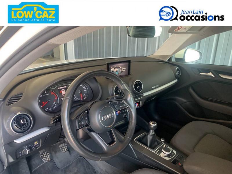 Audi A3 Sportback A3 Sportback 1.6 TDI 116 Business line 5p Blanc occasion à La Ravoire - photo n°10