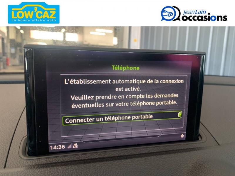 Audi A3 Sportback A3 Sportback 1.6 TDI 116 Business line 5p Blanc occasion à La Ravoire - photo n°17