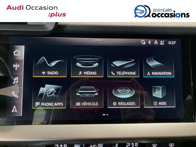 Audi A3 Sportback A3 Sportback 30 TDI 116 Design 5p Gris occasion à Seynod - photo n°16