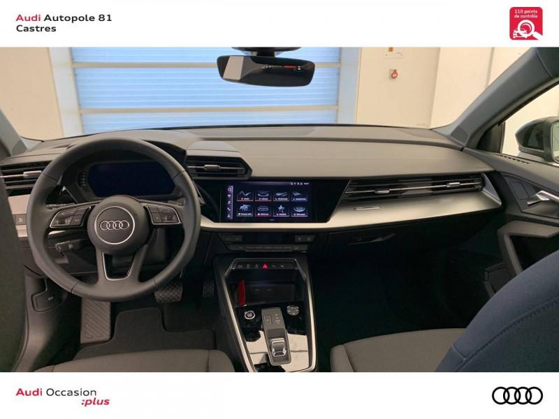 Audi A3 Sportback A3 Sportback 30 TFSI 110 S tronic 7 Design 5p Noir occasion à Castres - photo n°7