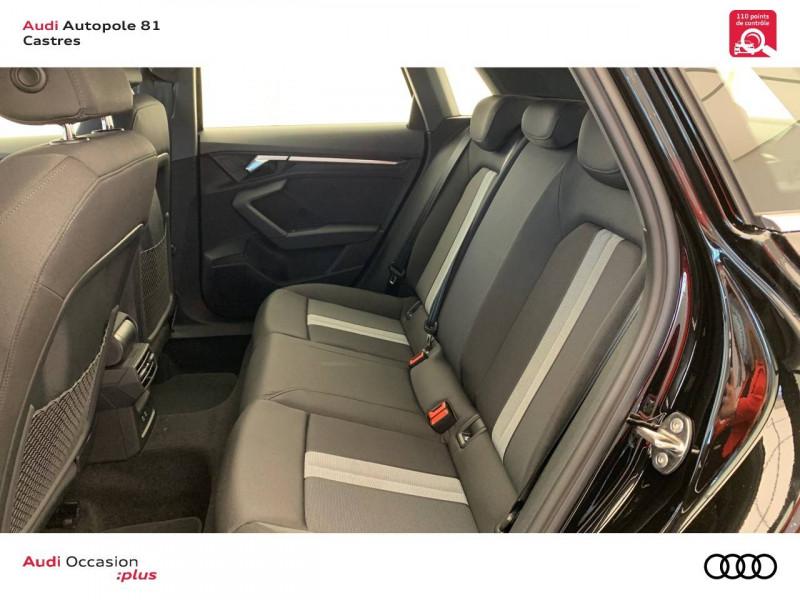 Audi A3 Sportback A3 Sportback 30 TFSI 110 S tronic 7 Design 5p Noir occasion à Castres - photo n°8