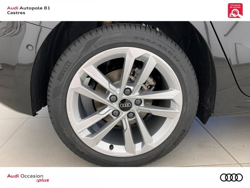 Audi A3 Sportback A3 Sportback 30 TFSI 110 S tronic 7 Design 5p Noir occasion à Castres - photo n°5
