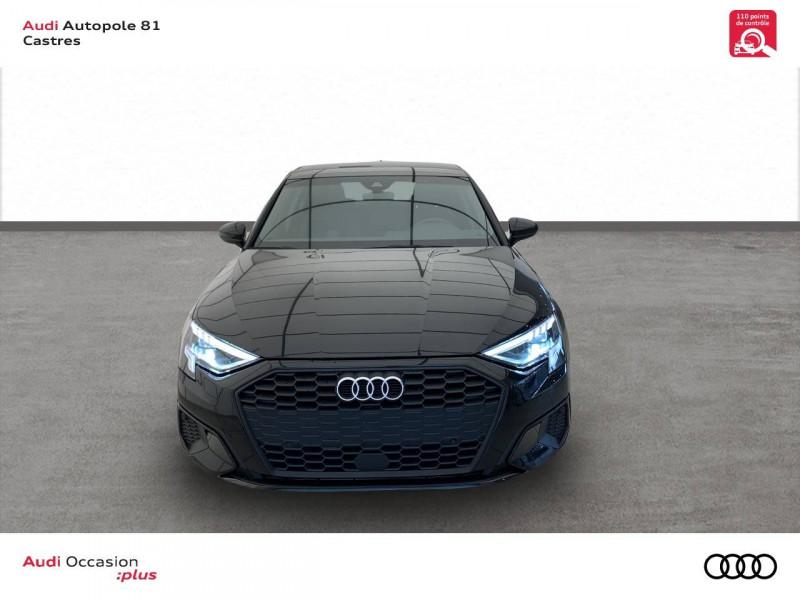 Audi A3 Sportback A3 Sportback 30 TFSI 110 S tronic 7 Design 5p Noir occasion à Castres - photo n°2