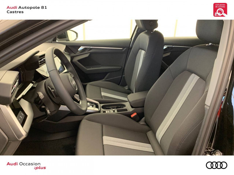 Audi A3 Sportback A3 Sportback 30 TFSI 110 S tronic 7 Design 5p Noir occasion à Castres - photo n°6