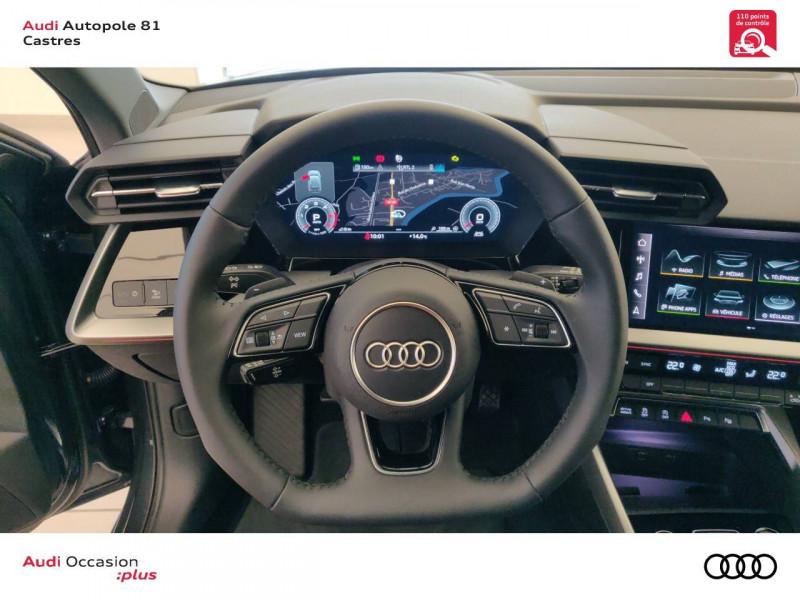 Audi A3 Sportback A3 Sportback 35 TDI 150 S tronic 7 Design Luxe 5p Gris occasion à Castres - photo n°8