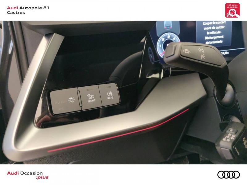 Audi A3 Sportback A3 Sportback 35 TDI 150 S tronic 7 Design Luxe 5p Gris occasion à Castres - photo n°6