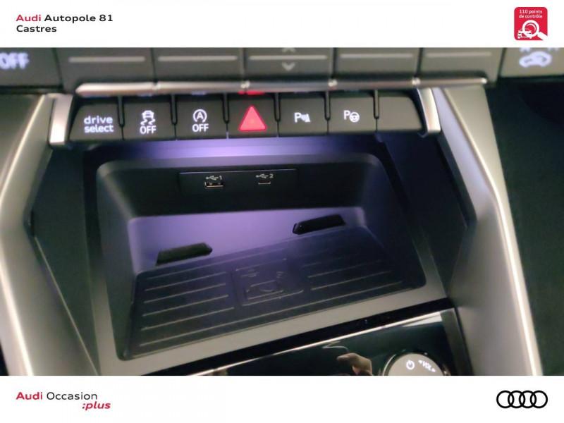 Audi A3 Sportback A3 Sportback 35 TDI 150 S tronic 7 Design Luxe 5p Gris occasion à Castres - photo n°7