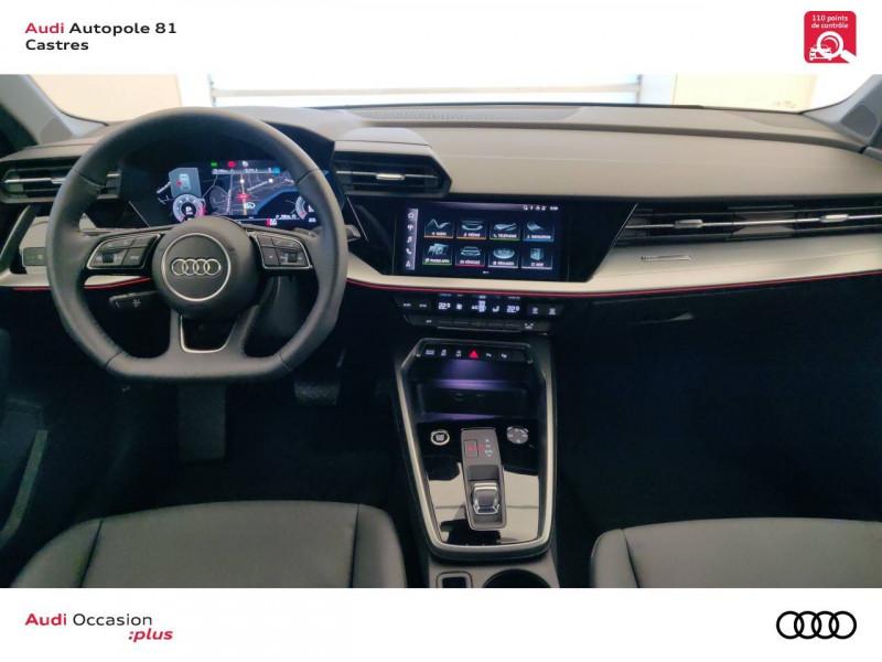 Audi A3 Sportback A3 Sportback 35 TDI 150 S tronic 7 Design Luxe 5p Gris occasion à Castres - photo n°10