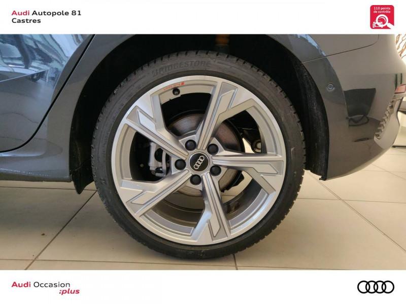 Audi A3 Sportback A3 Sportback 35 TDI 150 S tronic 7 Design Luxe 5p Gris occasion à Castres - photo n°5