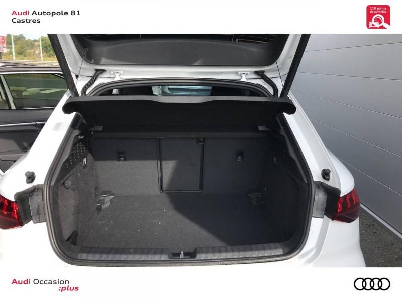 Audi A3 Sportback A3 Sportback 35 TDI 150 S tronic 7 S line 5p Blanc occasion à Castres - photo n°8