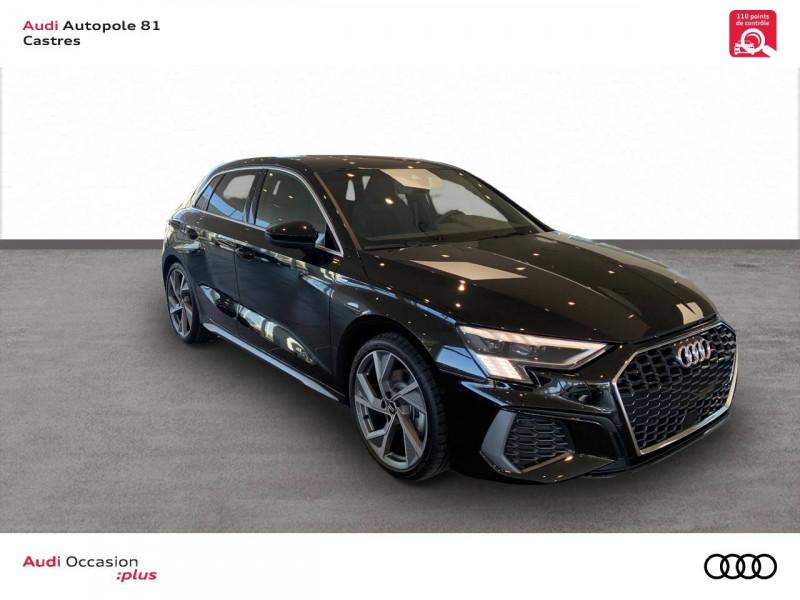 Audi A3 Sportback A3 Sportback 35 TDI 150 S tronic 7 S line 5p Noir occasion à Castres