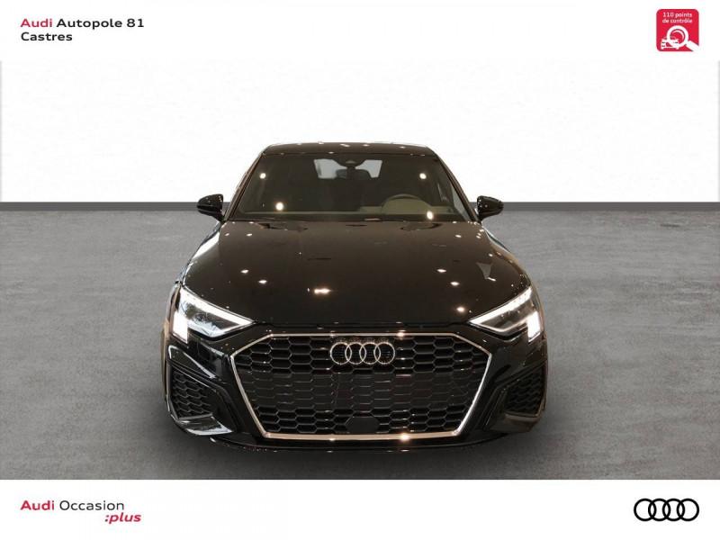 Audi A3 Sportback A3 Sportback 35 TDI 150 S tronic 7 S line 5p Noir occasion à Castres - photo n°2