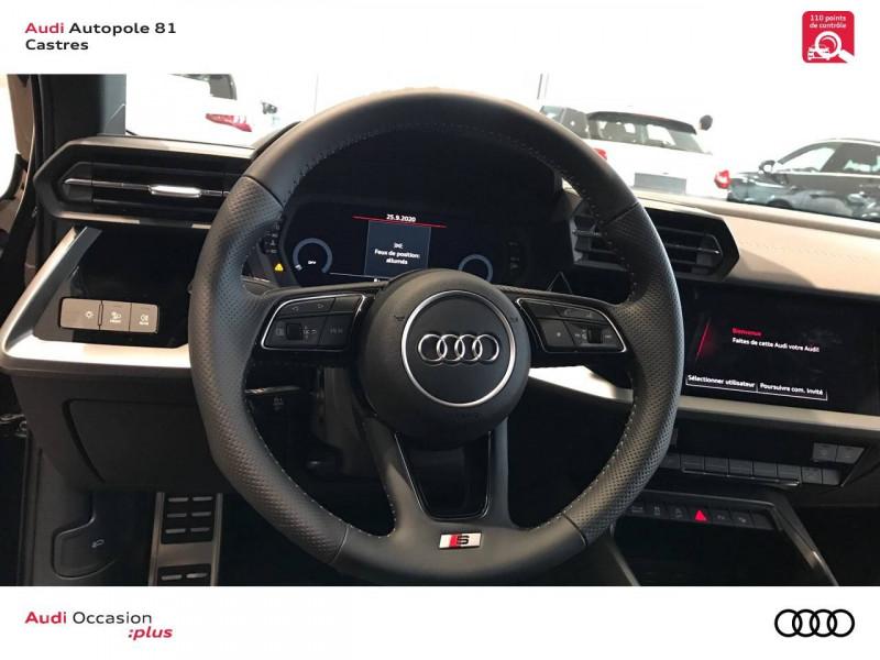 Audi A3 Sportback A3 Sportback 35 TDI 150 S tronic 7 S line 5p Noir occasion à Castres - photo n°9
