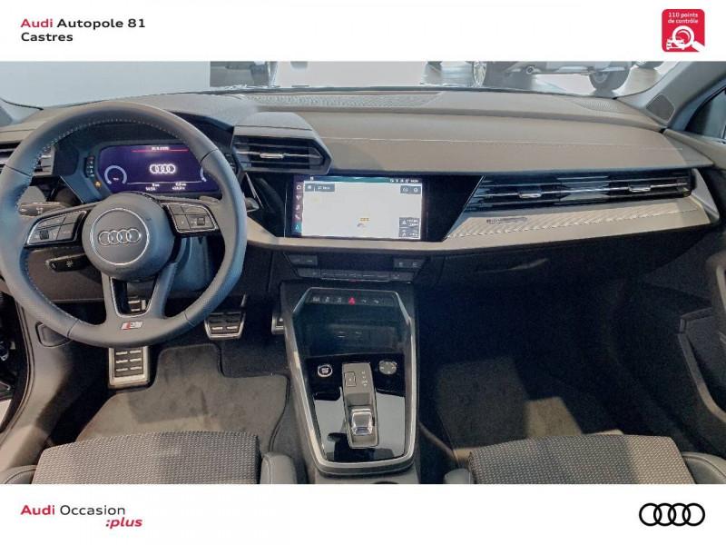 Audi A3 Sportback A3 Sportback 35 TDI 150 S tronic 7 S line 5p Noir occasion à Castres - photo n°7