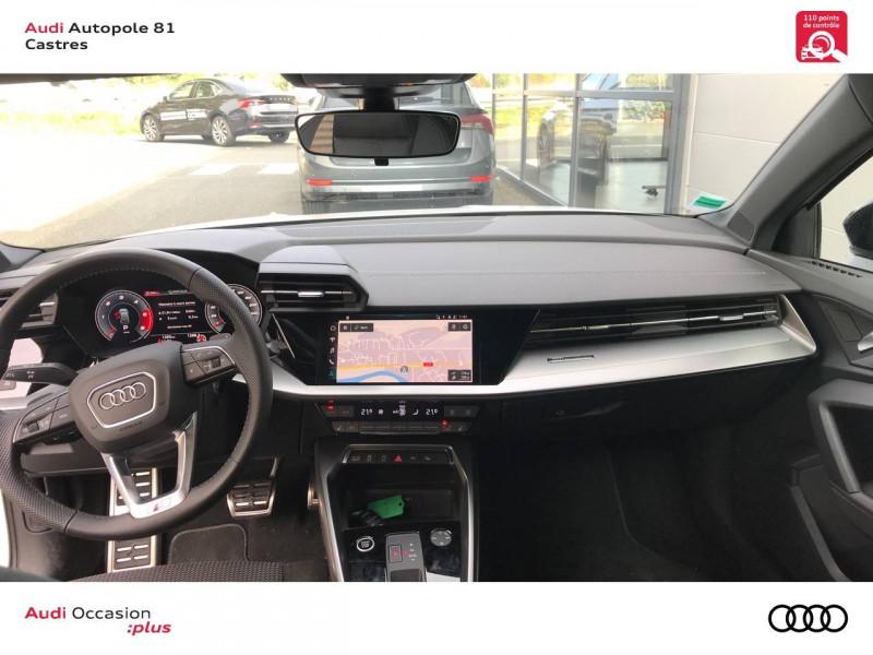Audi A3 Sportback A3 Sportback 35 TDI 150 S tronic 7 S line 5p Blanc occasion à Castres - photo n°5