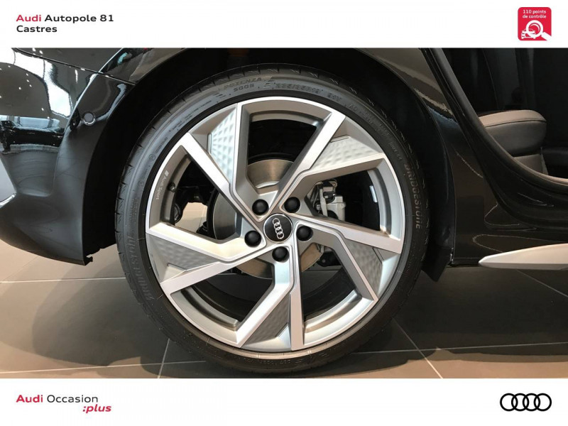 Audi A3 Sportback A3 Sportback 35 TDI 150 S tronic 7 S line 5p Noir occasion à Castres - photo n°5