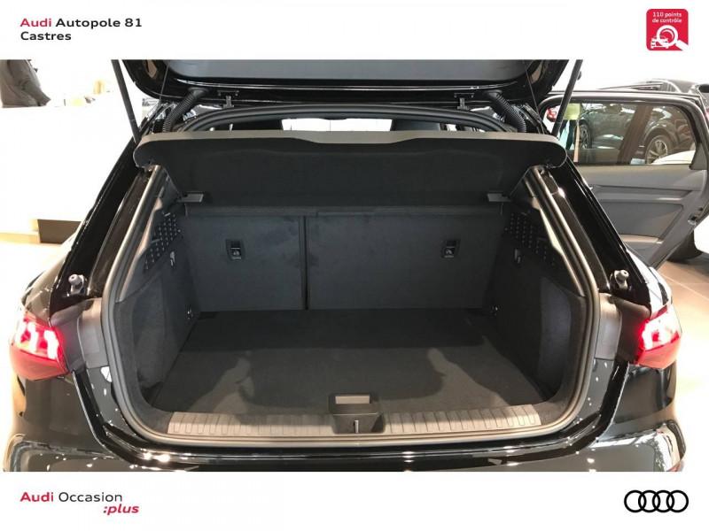 Audi A3 Sportback A3 Sportback 35 TDI 150 S tronic 7 S line 5p Noir occasion à Castres - photo n°10