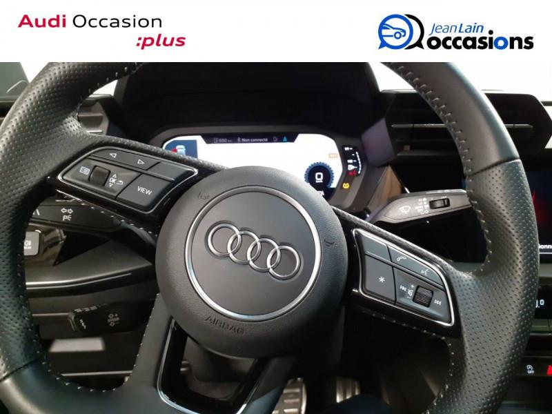 Audi A3 Sportback A3 Sportback 35 TDI 150 S tronic 7 S Line 5p Noir occasion à La Motte-Servolex - photo n°12