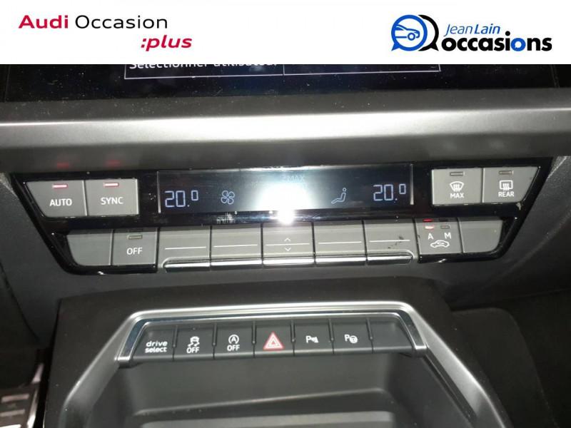Audi A3 Sportback A3 Sportback 35 TDI 150 S tronic 7 S Line 5p Noir occasion à La Motte-Servolex - photo n°13