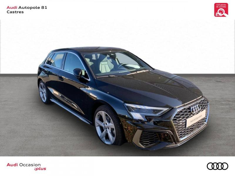 Audi A3 Sportback A3 Sportback 35 TFSI 150 S line 5p Noir occasion à Castres - photo n°11