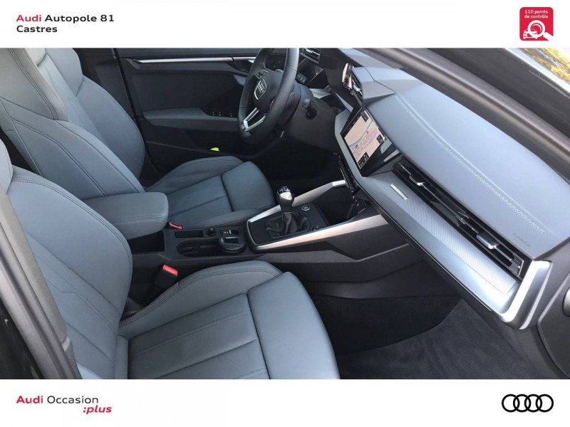 Audi A3 Sportback A3 Sportback 35 TFSI 150 S line 5p Noir occasion à Castres - photo n°5
