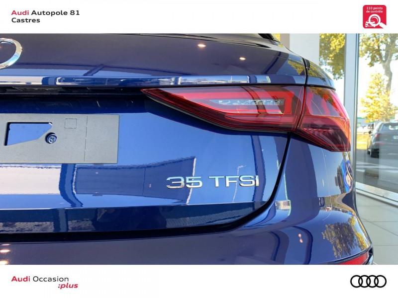 Audi A3 Sportback A3 Sportback 35 TFSI 150 S line 5p Bleu occasion à Castres - photo n°9