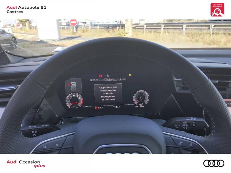 Audi A3 Sportback A3 Sportback 35 TFSI 150 S line 5p Noir occasion à Castres - photo n°9
