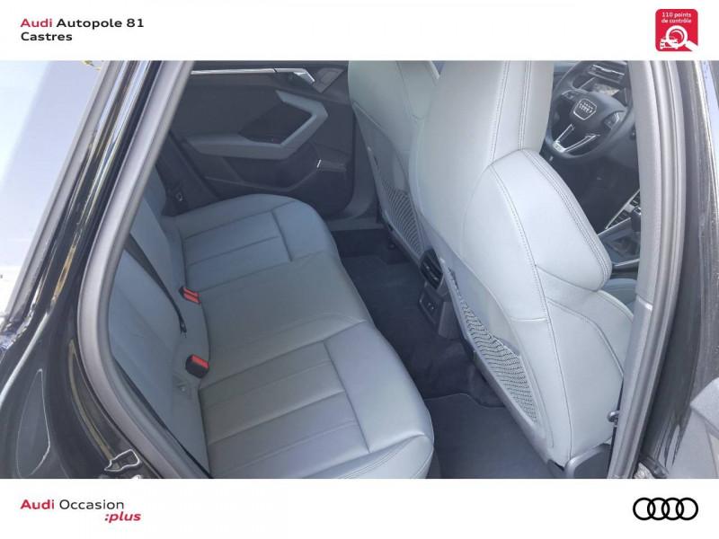 Audi A3 Sportback A3 Sportback 35 TFSI 150 S line 5p Noir occasion à Castres - photo n°7