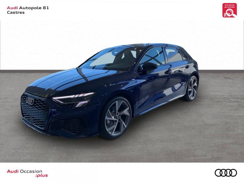 Audi A3 Sportback A3 Sportback 35 TFSI 150 S line 5p Bleu occasion à Castres