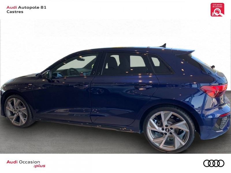 Audi A3 Sportback A3 Sportback 35 TFSI 150 S line 5p Bleu occasion à Castres - photo n°3