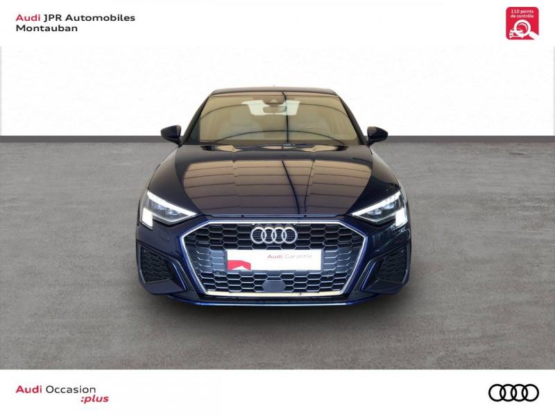 Audi A3 Sportback A3 Sportback 35 TFSI 150 S line 5p Bleu occasion à montauban - photo n°2
