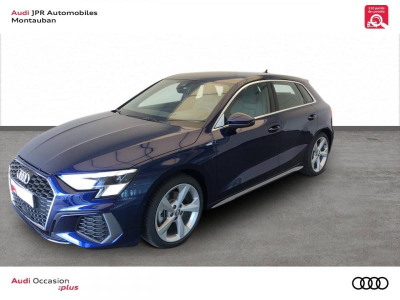 Audi A3 Sportback A3 Sportback 35 TFSI 150 S line 5p Bleu occasion à montauban