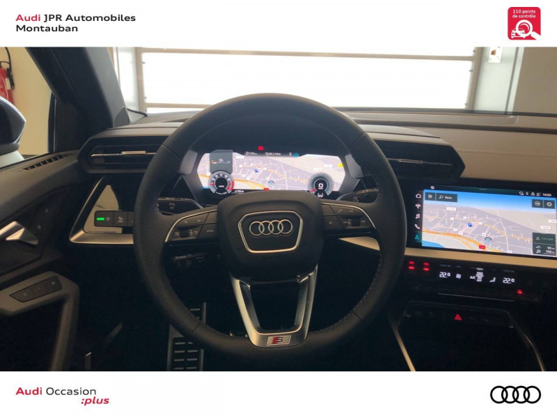 Audi A3 Sportback A3 Sportback 35 TFSI 150 S line 5p Bleu occasion à montauban - photo n°10