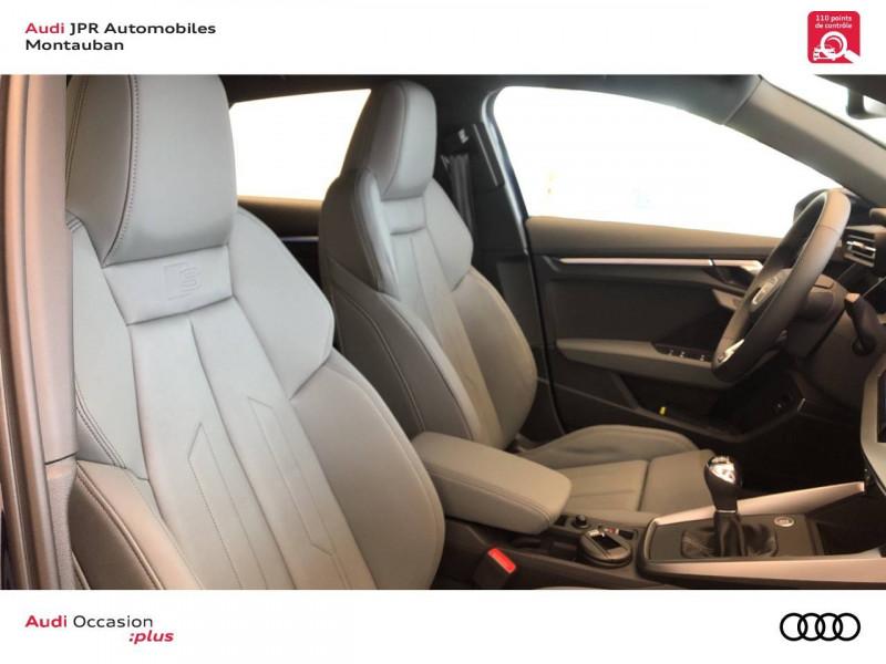 Audi A3 Sportback A3 Sportback 35 TFSI 150 S line 5p Bleu occasion à montauban - photo n°6
